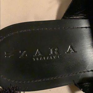 Zara Shoes - Black Zara gladiator sandals